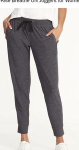 NWT! Old Navy Midrise Joggers! Charcoal Gray!